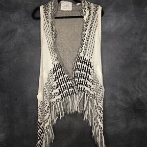 ANGEL OF THE NORTH | Hooded Sweater Vest Size XS